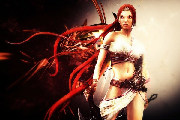 Heavenly Sword Abstract