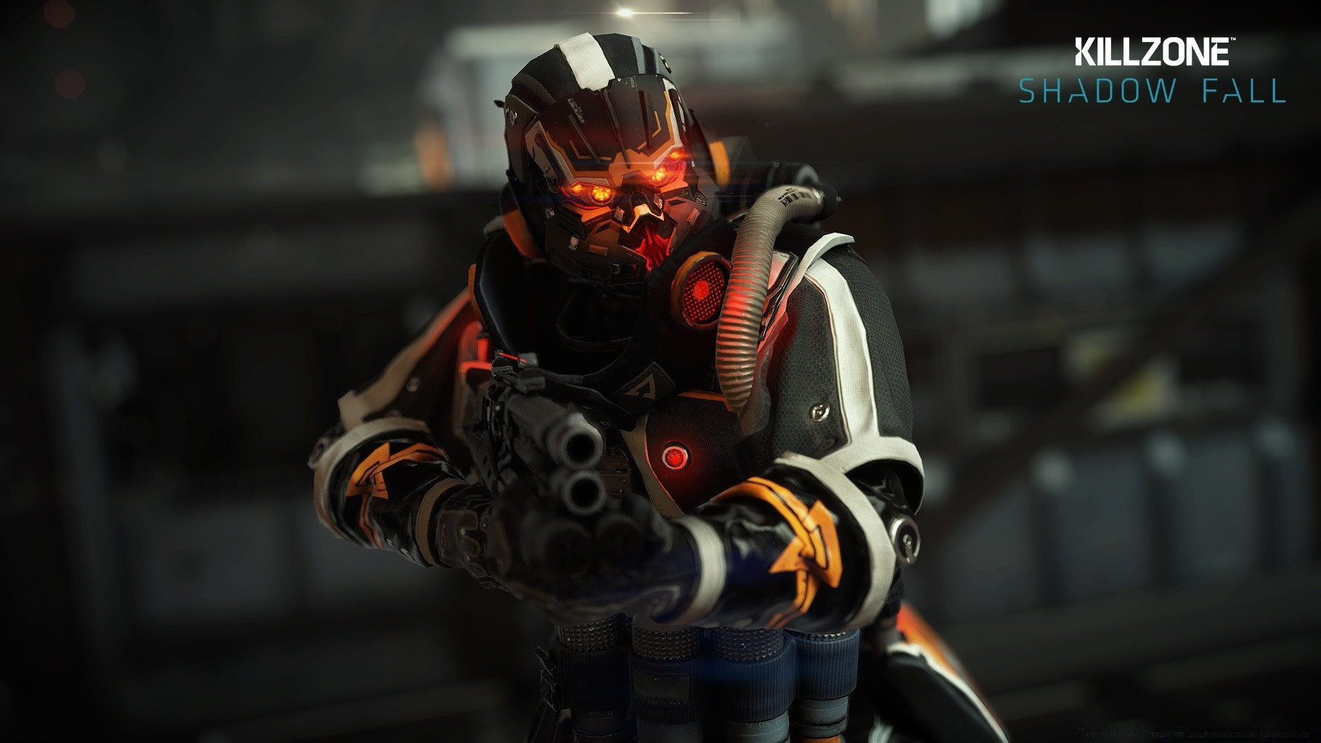 Helghast infantry killzone shadow fall android wallpapers for free voltagebd Gallery