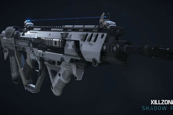 Killzone Shadow Fall 2013 M55 Assault Rifle