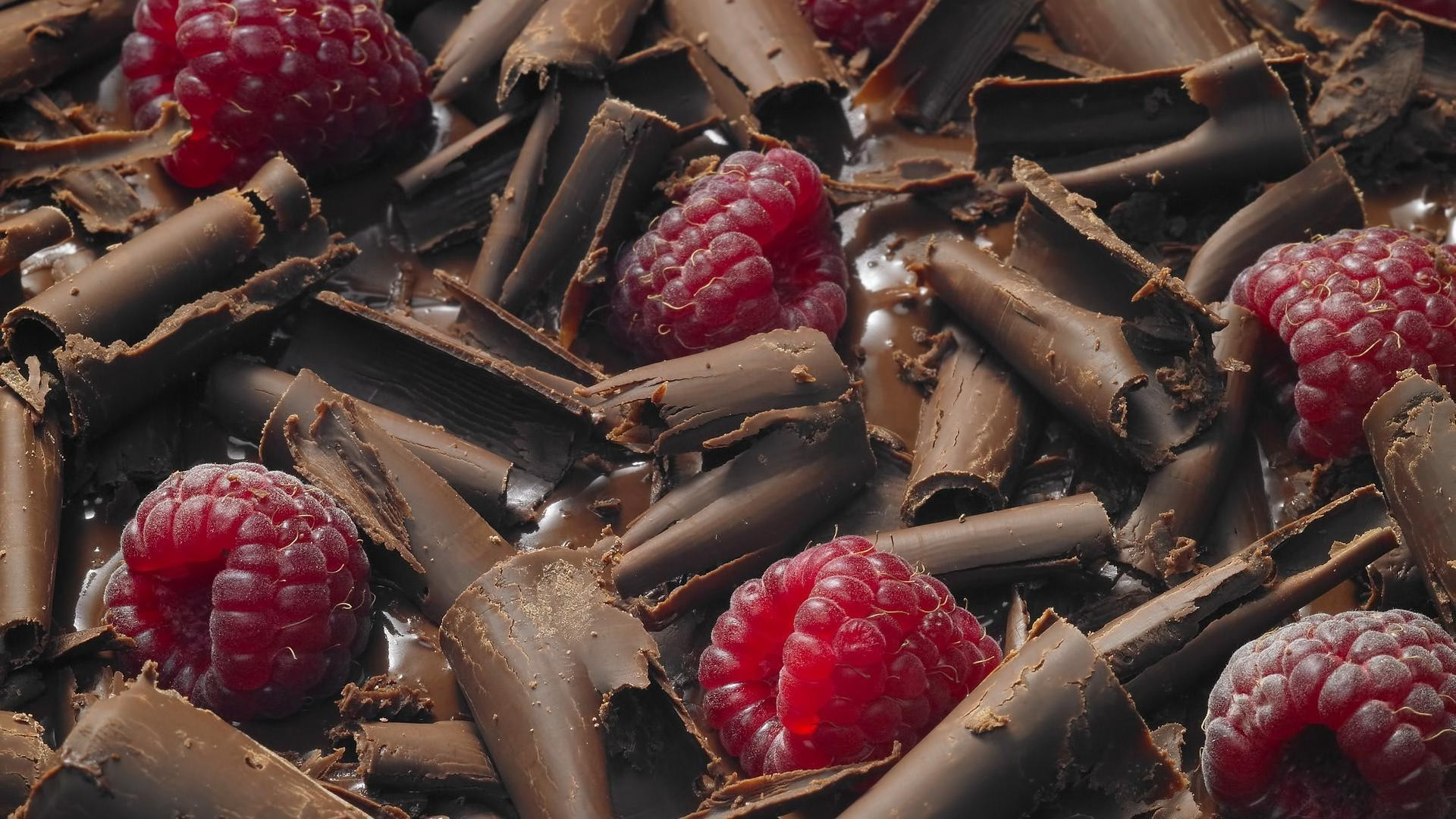 Chocolate, raspberry