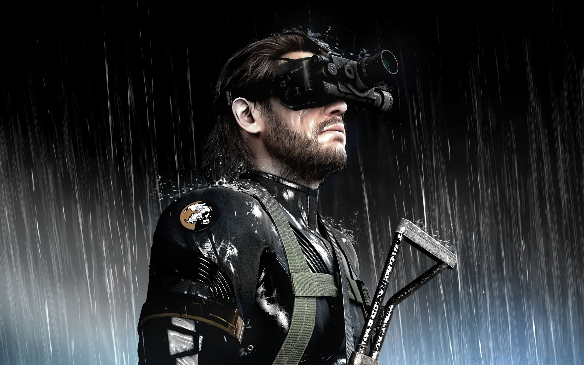 Metal Gear Solid Ground Zeroes Video Game Android Wallpapers