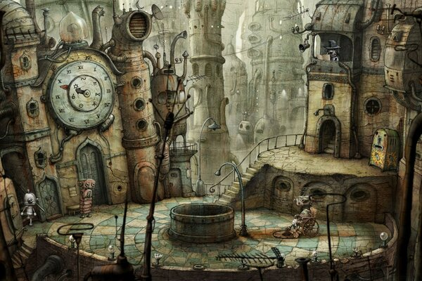 Plaza, Machinarium Game