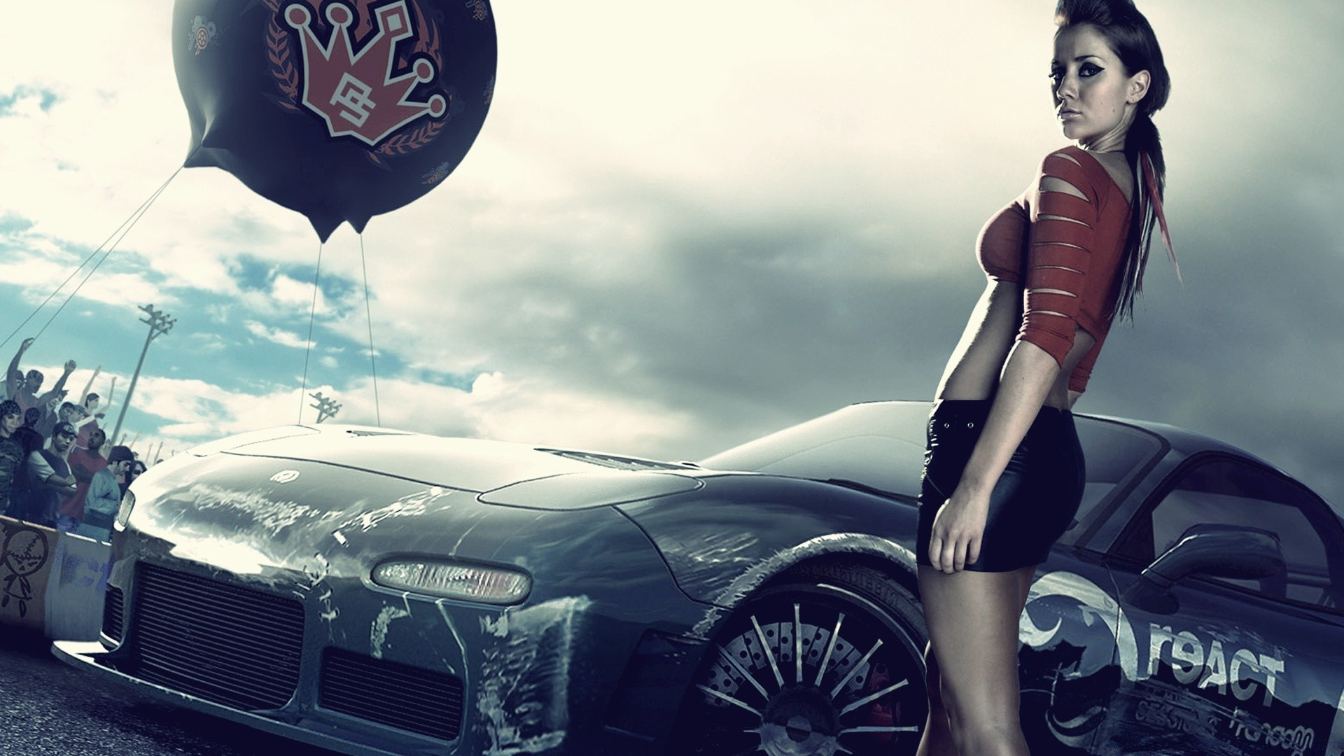 Need For Speed Prostreet Girls High Definition Wallpapers