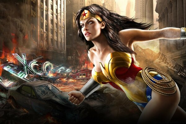 Mortal Kombat Vs Dc Universe Comics - Wonder Woman