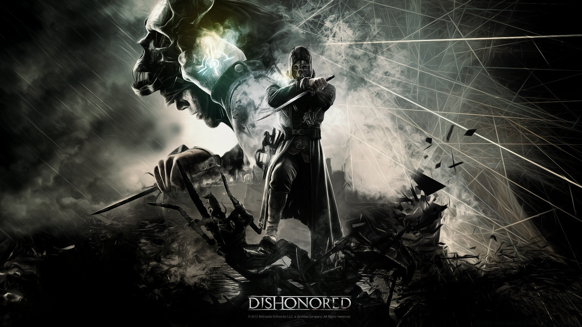 dishonored video game. desktop wallpapers for free.