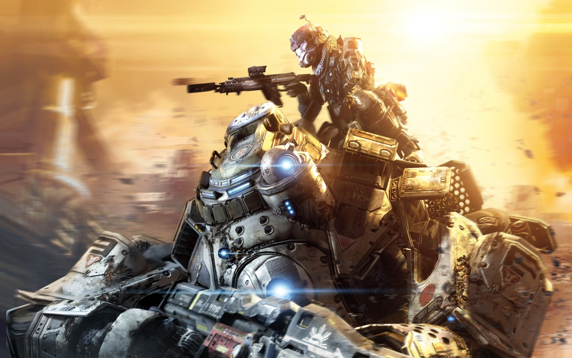 titanfall titans 2014 video game. android wallpapers for free.