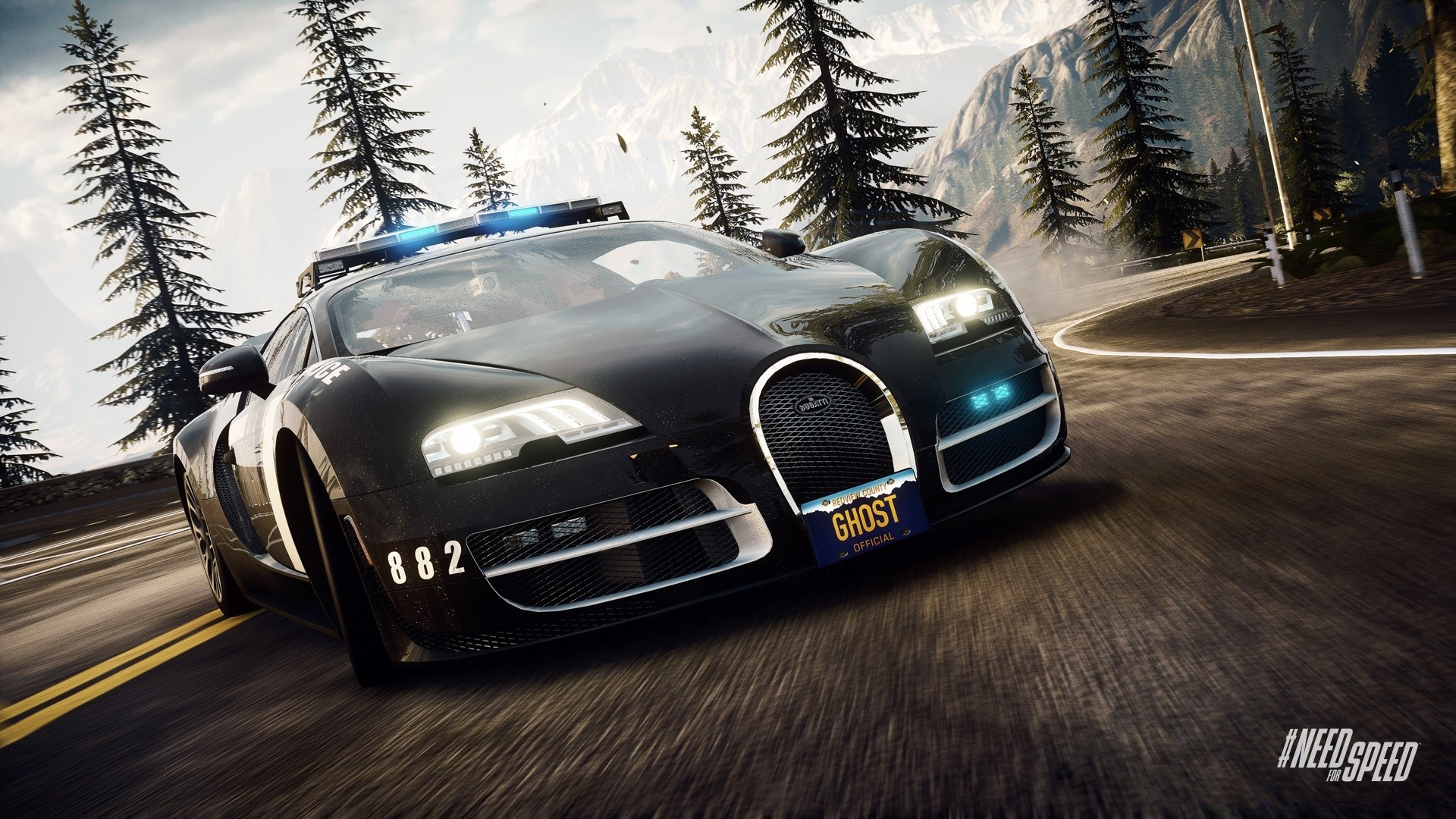 Need For Speed Rivals Bugatti Veyron Super Sport Phone Wallpapers