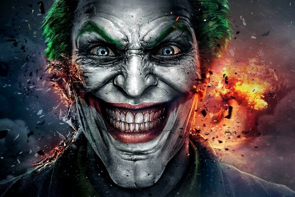 Injustice God Among Us Joker Face