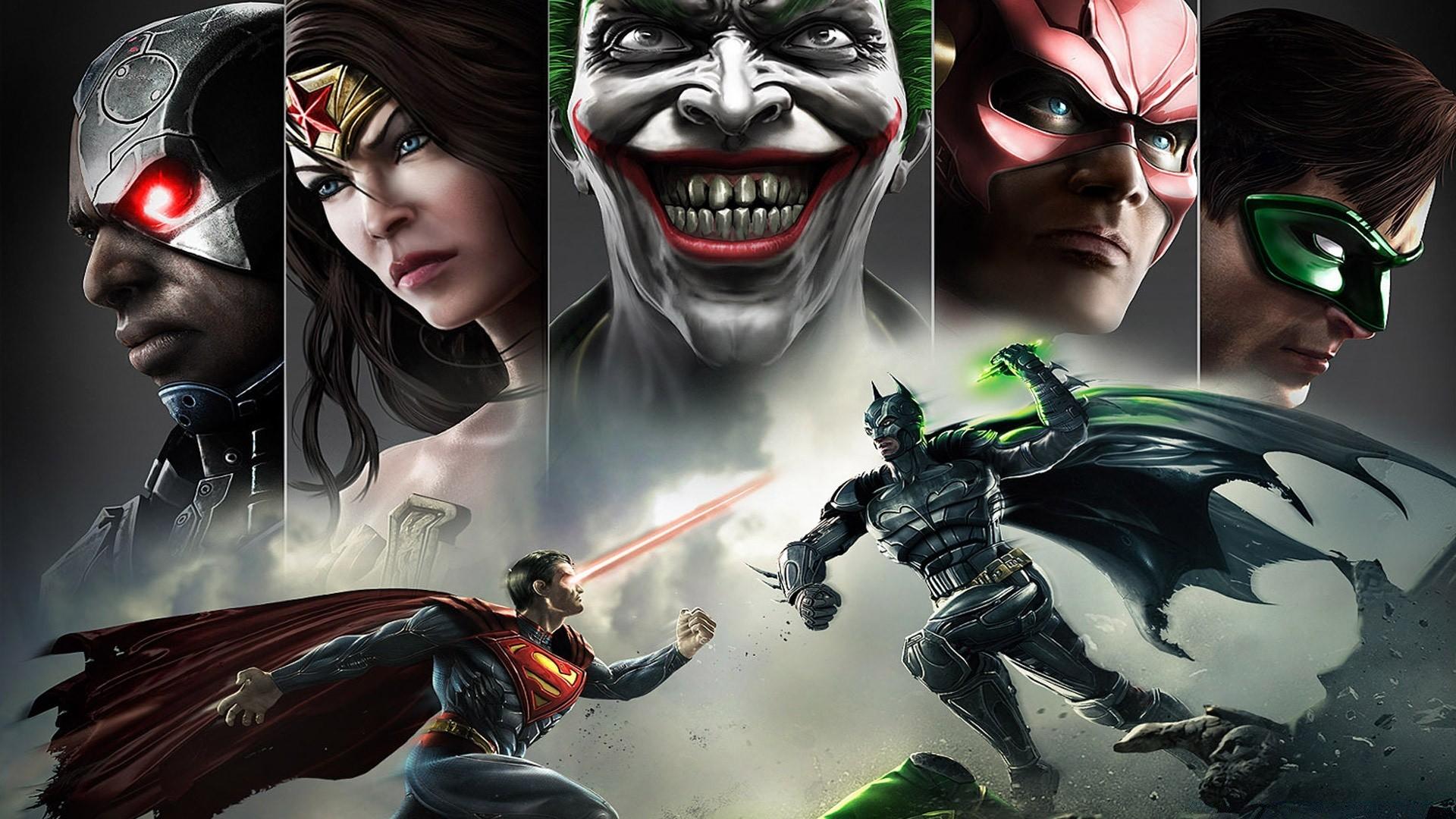 Injustice Superman Vs Batman IPhone Wallpapers For Free