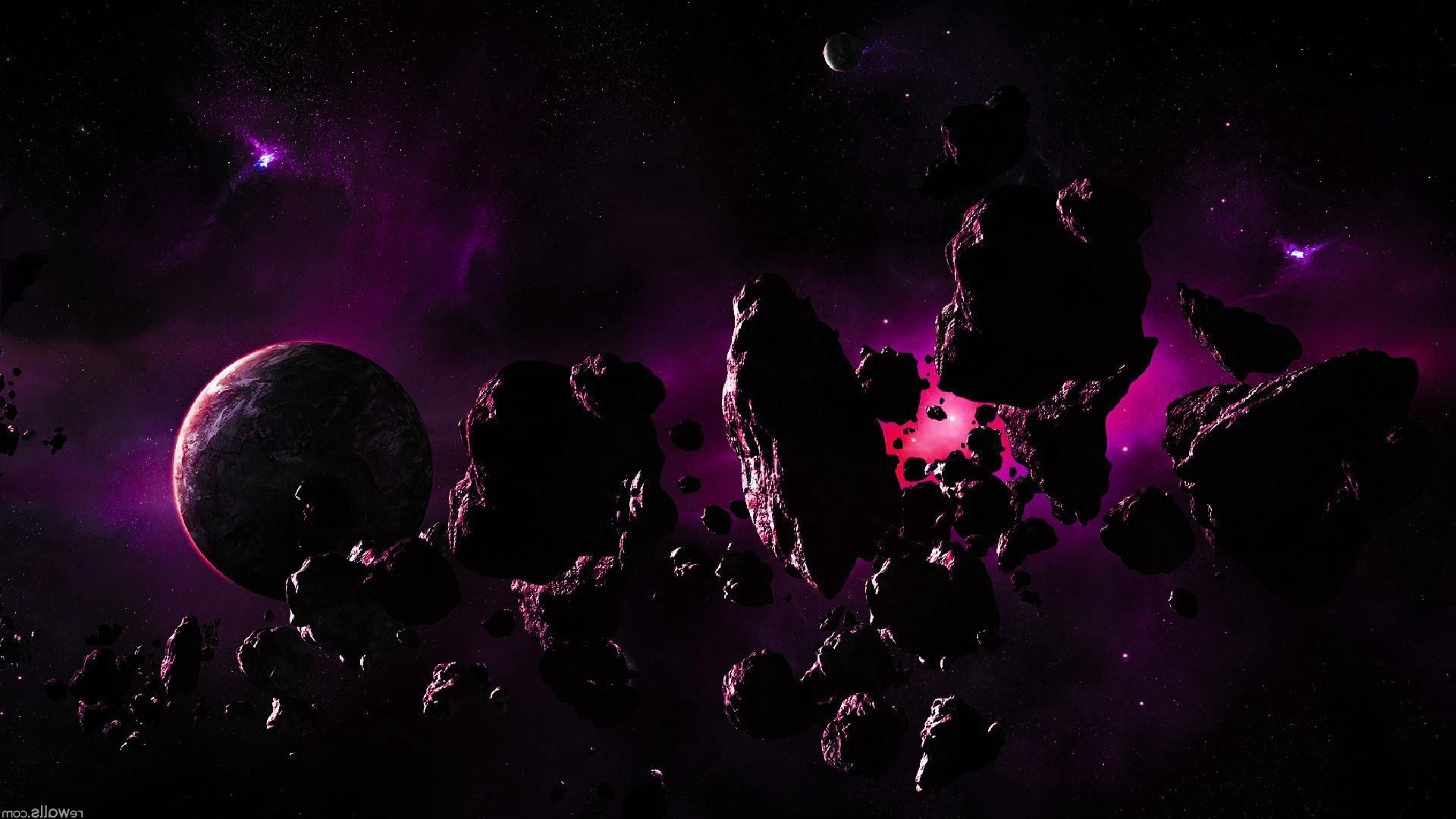 asteroid planet game - HD 1422×800
