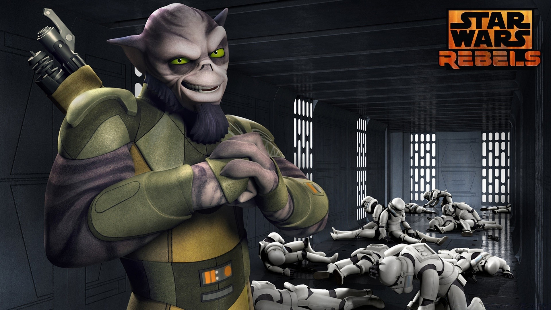 Star Wars Rebels Zeb Phone Wallpapers
