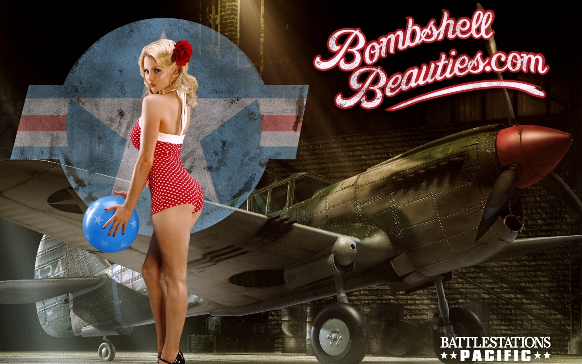 Battlestation Pacific Bombshell Beauties Pin Up Android