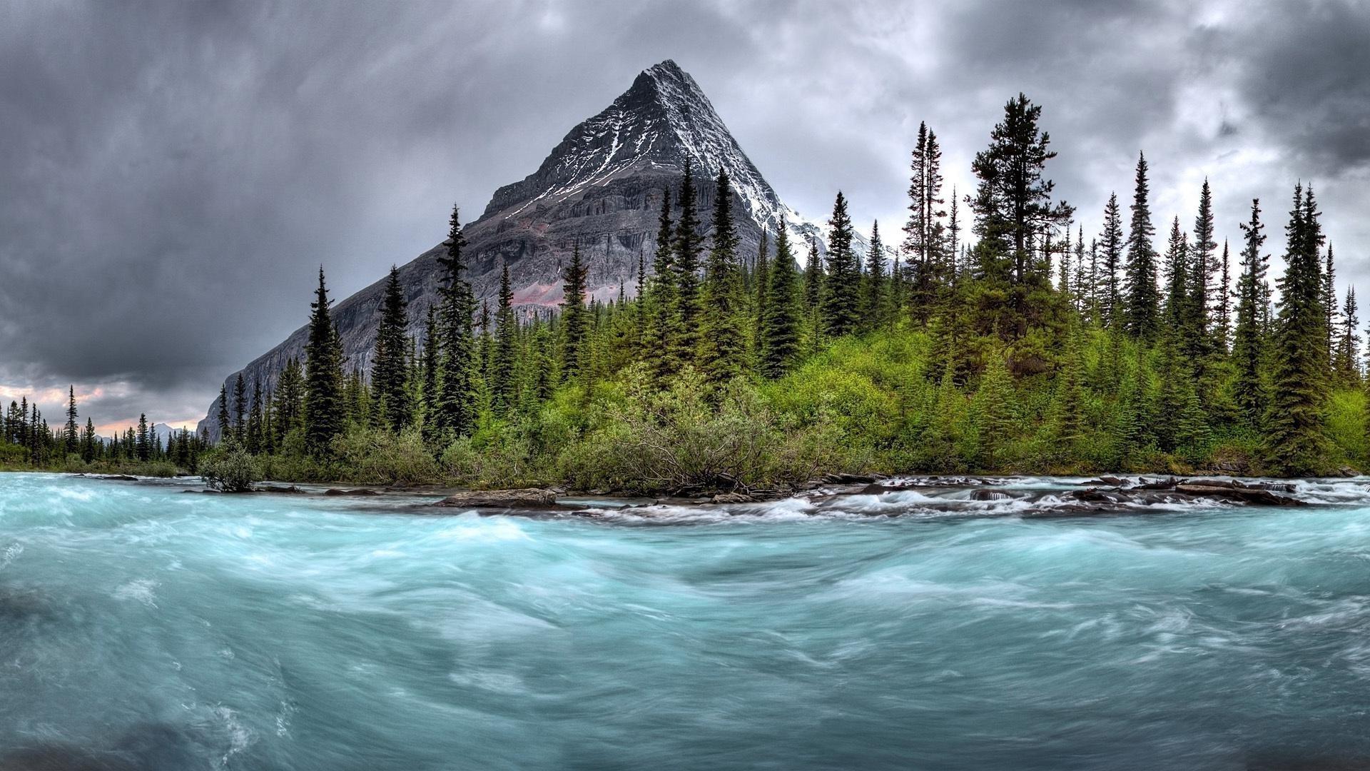 природа небо река  № 3804877  скачать