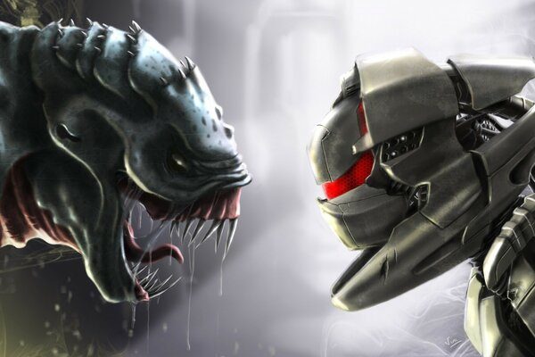 Aliens vs. Predator Artwork