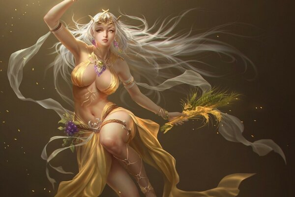 Demeter the goddess of fertility