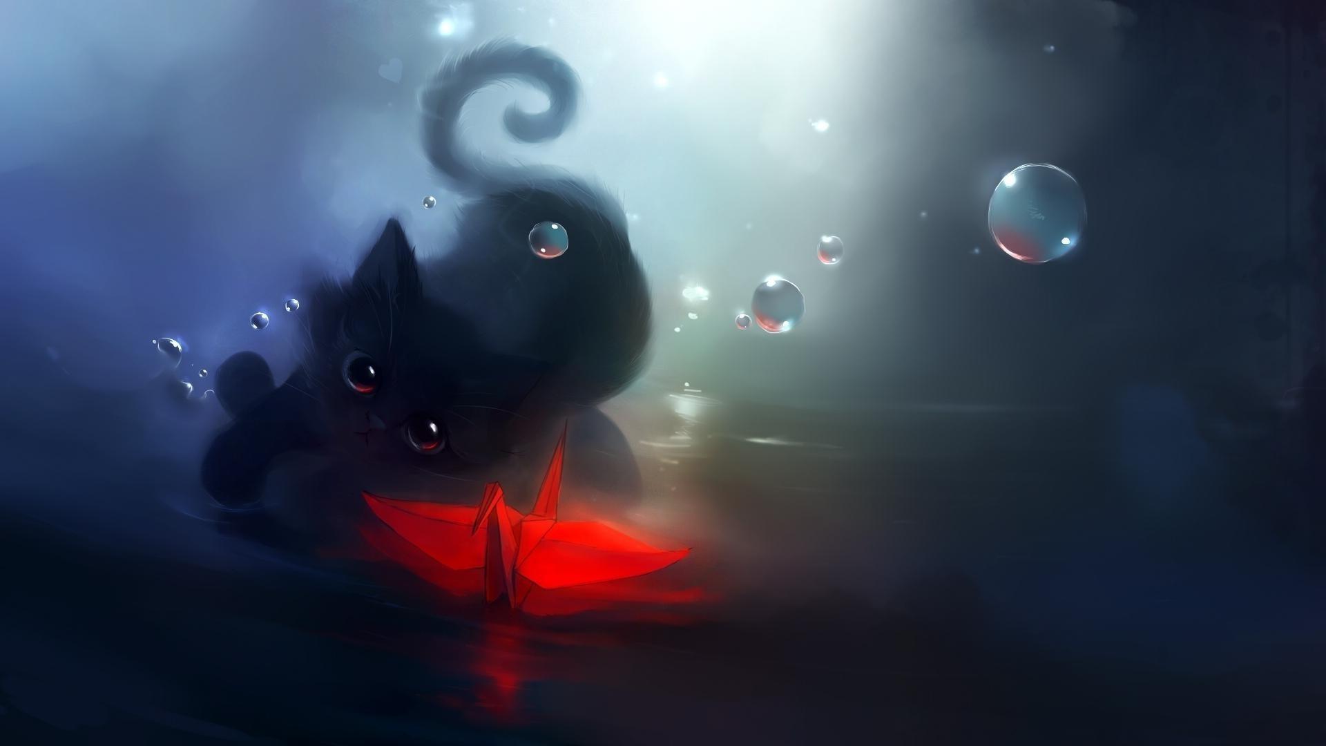 Влюбленные коты загрузить