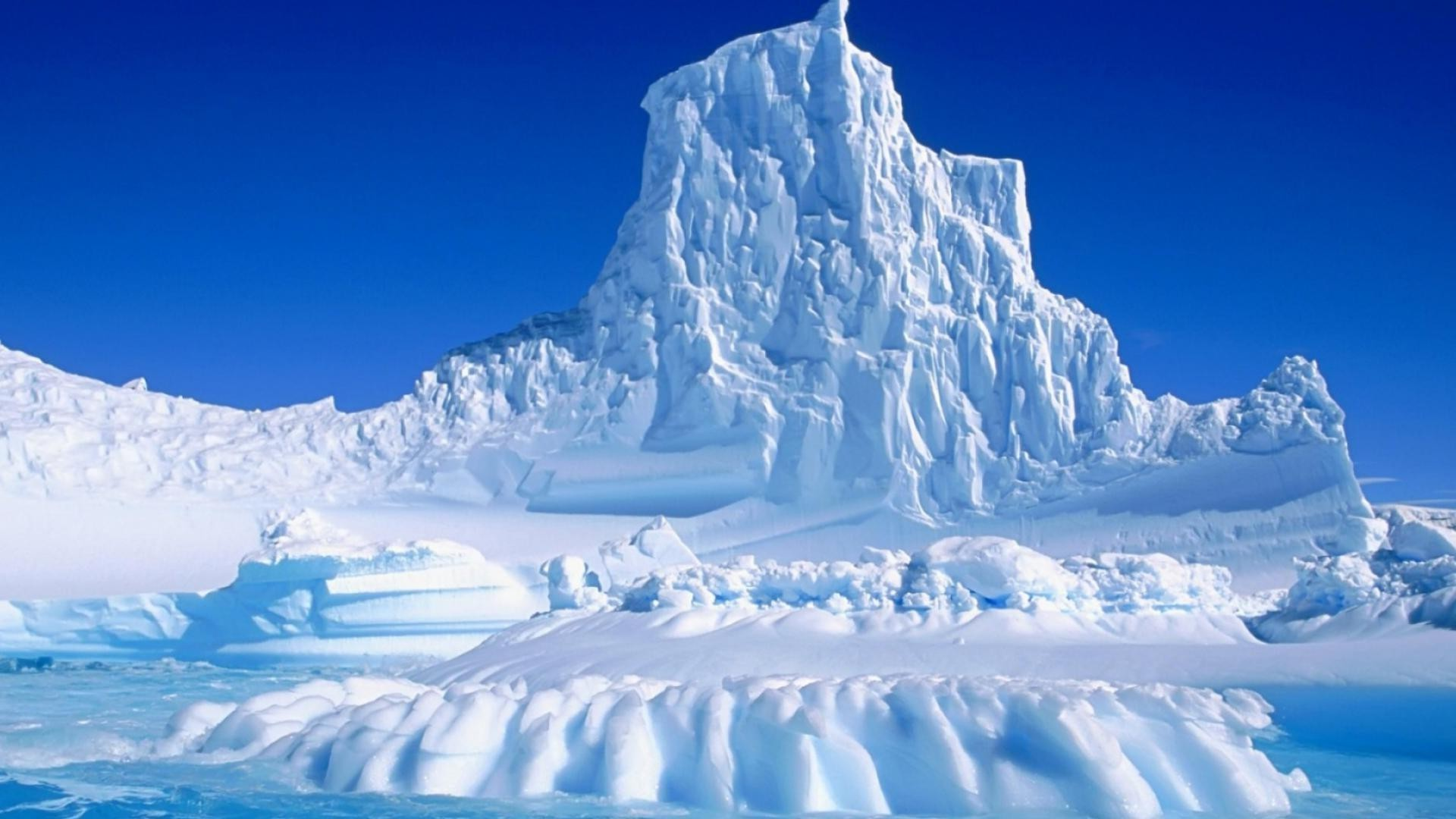 Ice Mountain Android Wallpapers