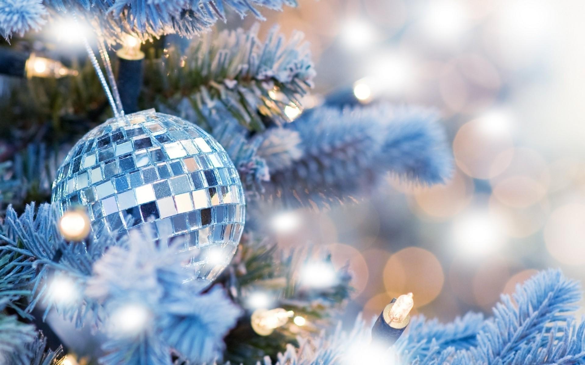 Blue Christmas Tree Free Wallpapers