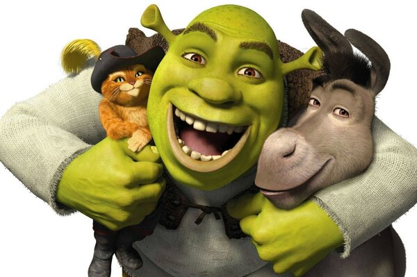 Friends Shrek