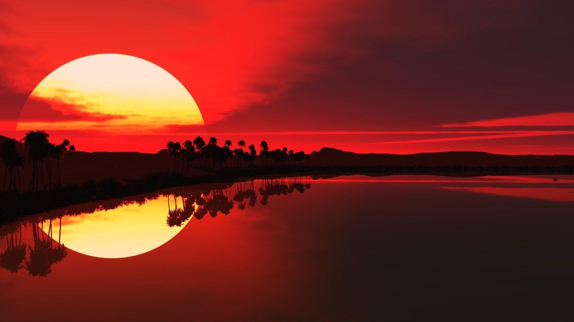 the sunset and sunrise sunset dawn evening sun dusk sky water silhouette nature landscape reflection
