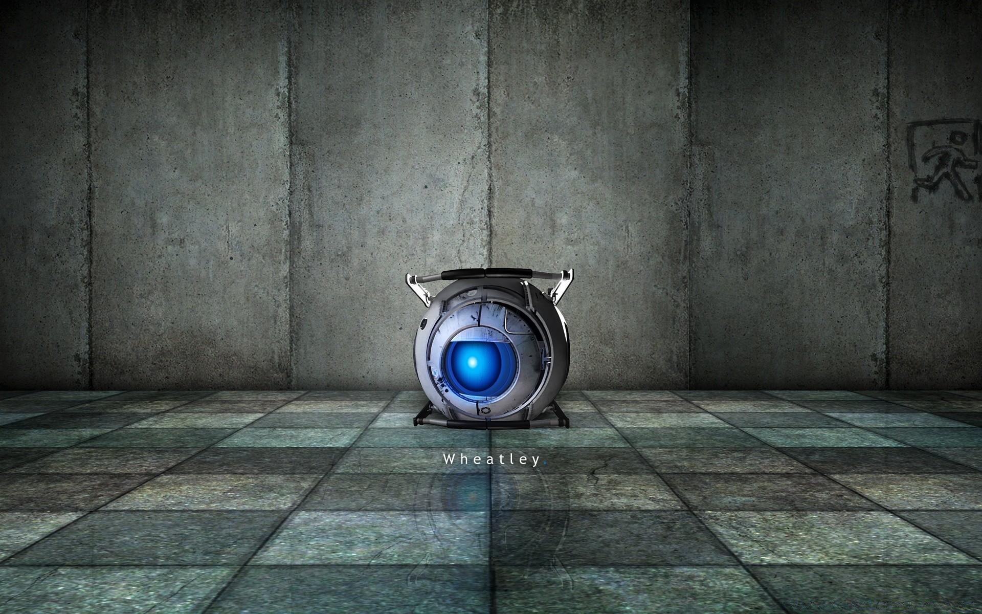 Portal 2 Wheatley Phone Wallpapers