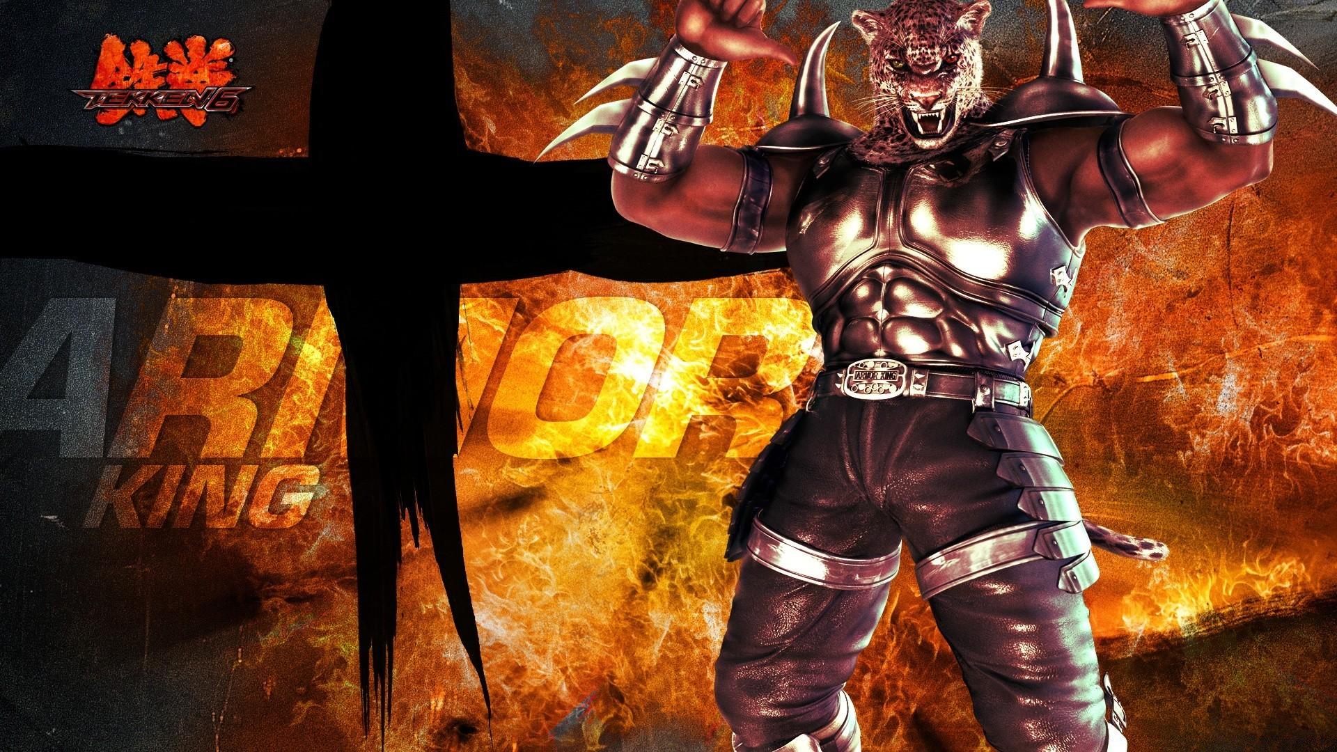Tekken 6 King Android Wallpapers