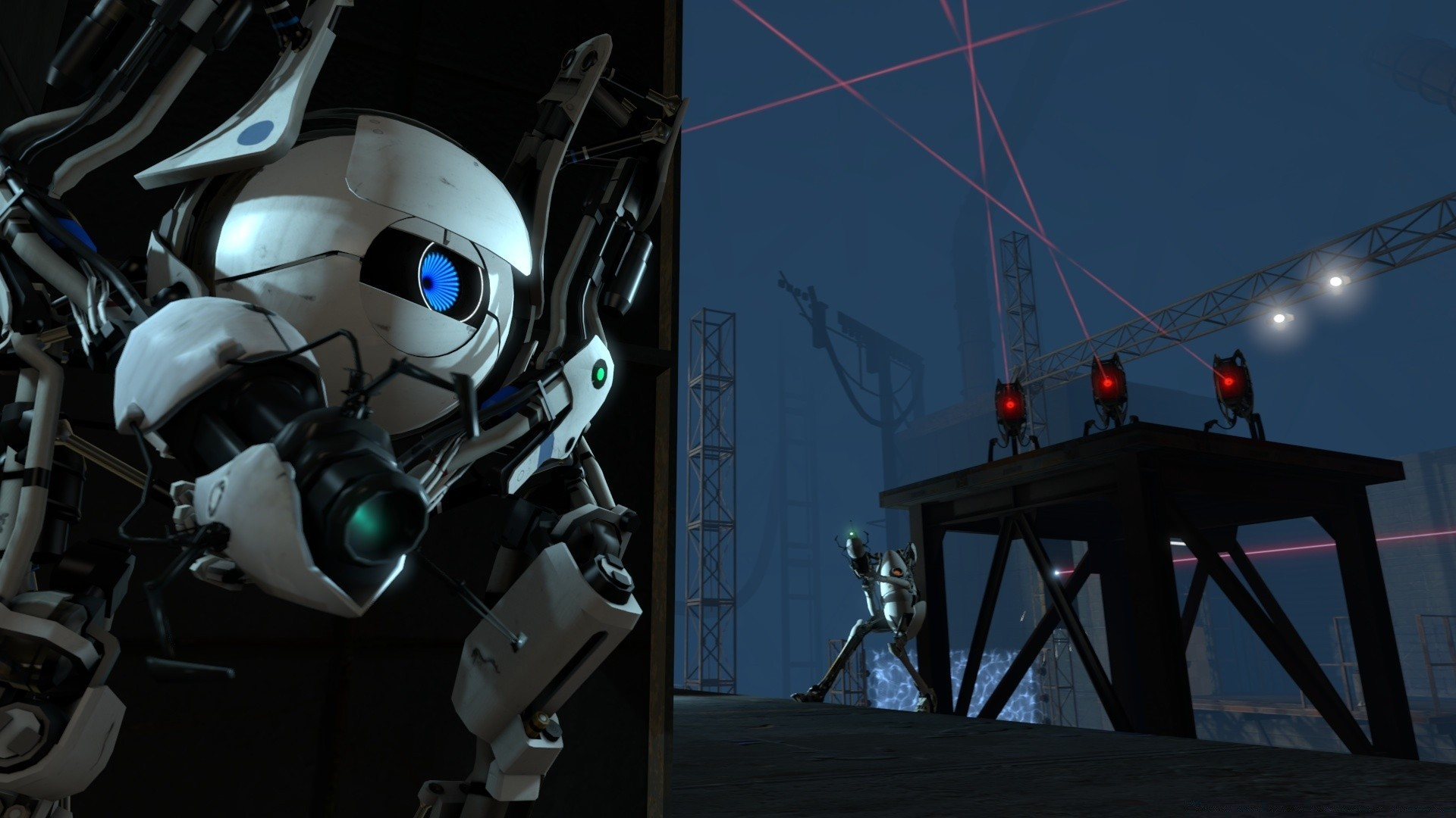 Portal 2 Game Phone Wallpapers
