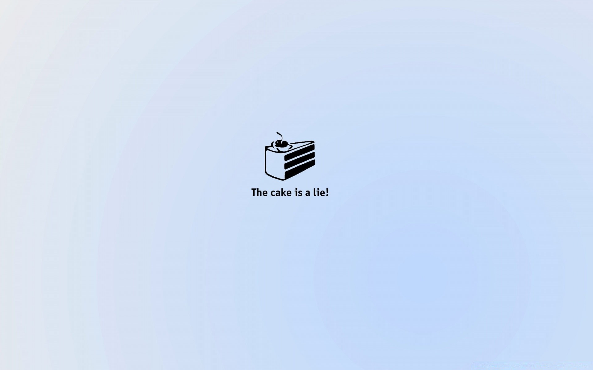 Portal The Cake Is A Lie Phone Wallpapers
