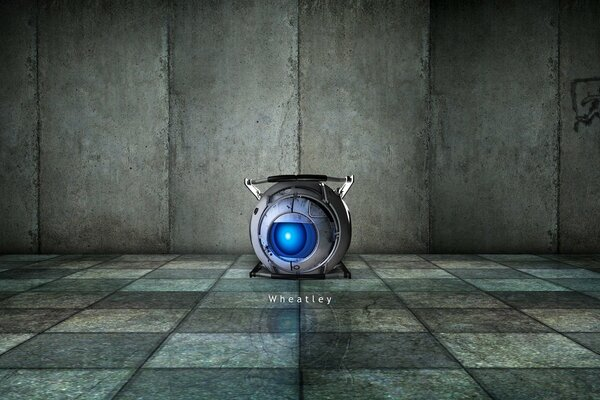 Portal 2 Wheatley