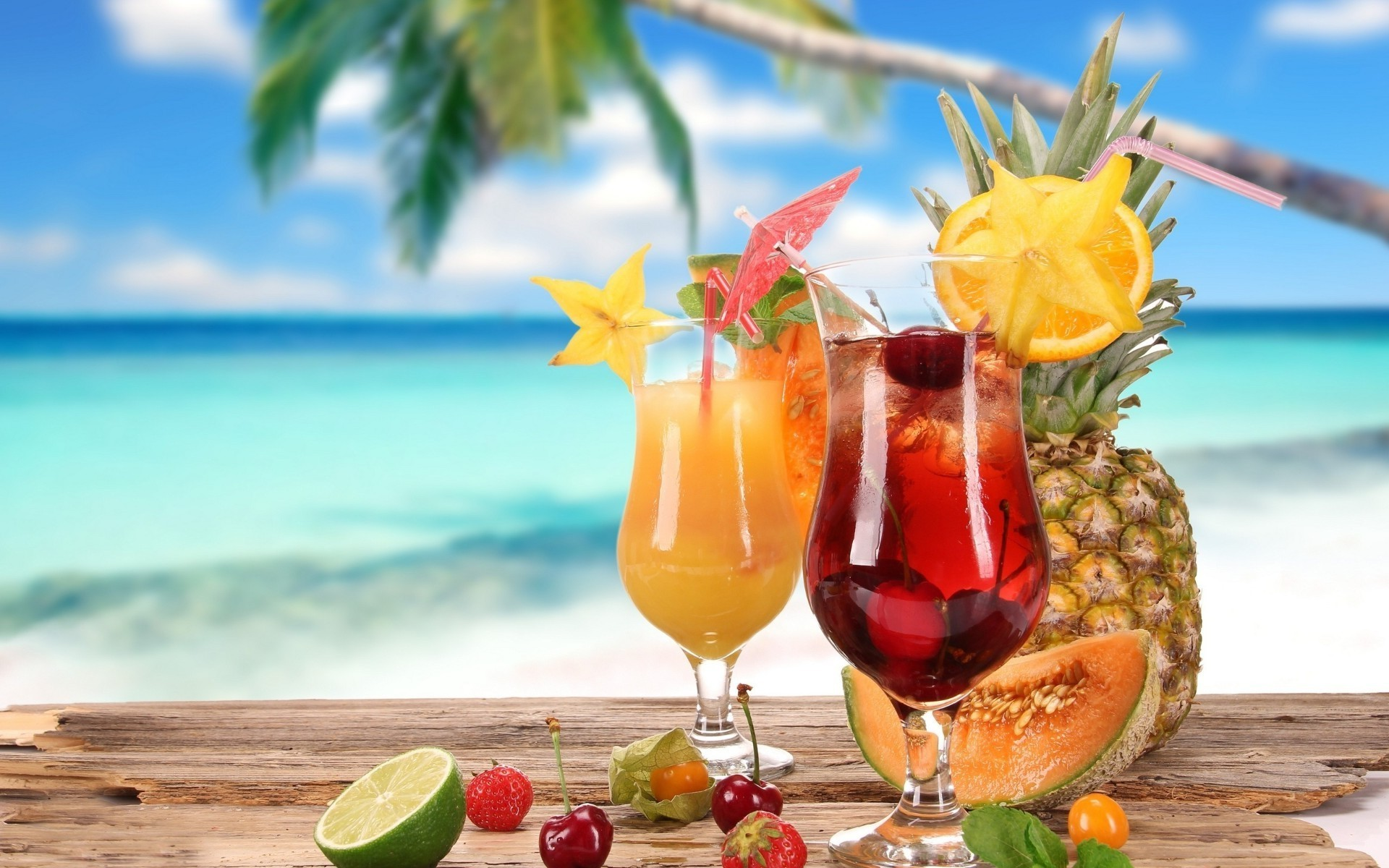 Tropical Cocktails. Android Wallpapers For Free