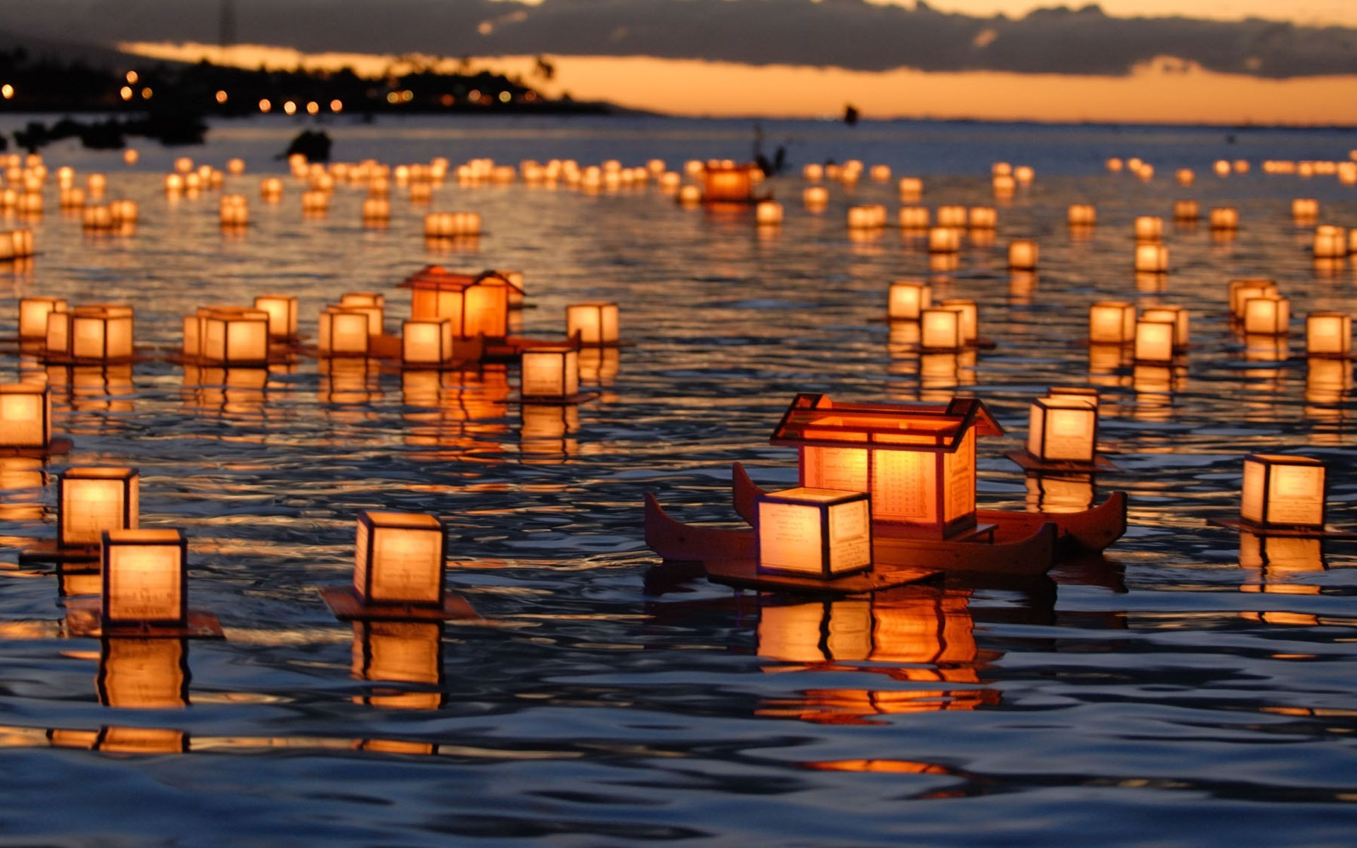 party supplies water sunset reflection dusk evening dawn sun sea travel lake pier light outdoors boat summer