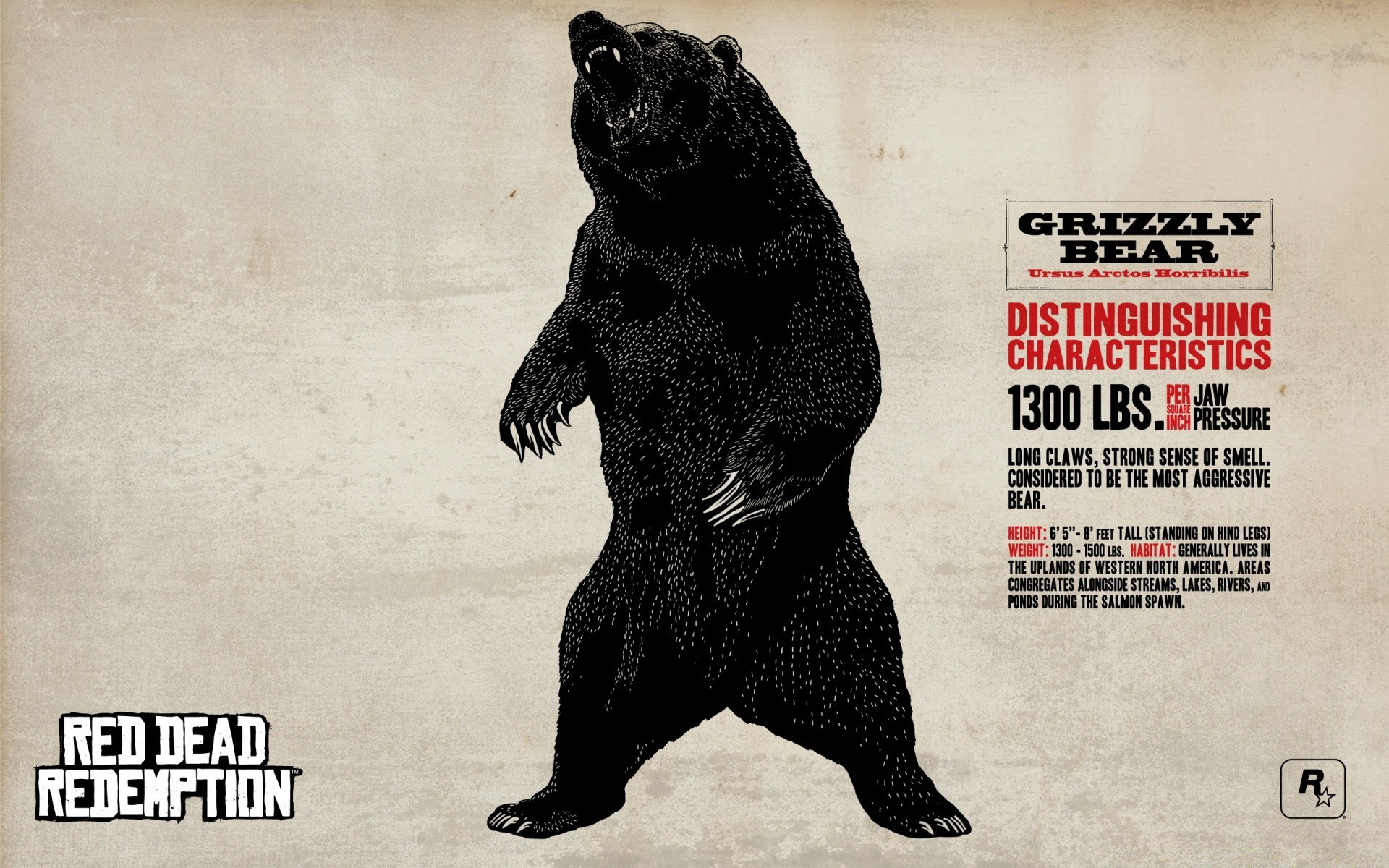 Red Dead Redemption Grizzly Bear Iphone Wallpapers For Free