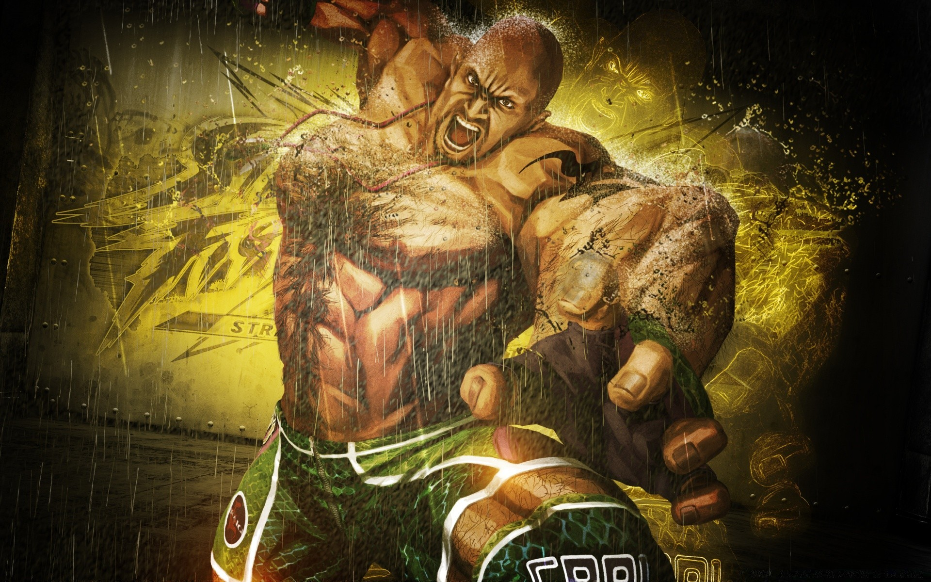 Street Fighter X Tekken 2012 Marduk Android Wallpapers