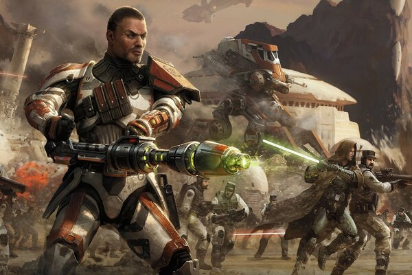 Star Wars The Old Republic Combat