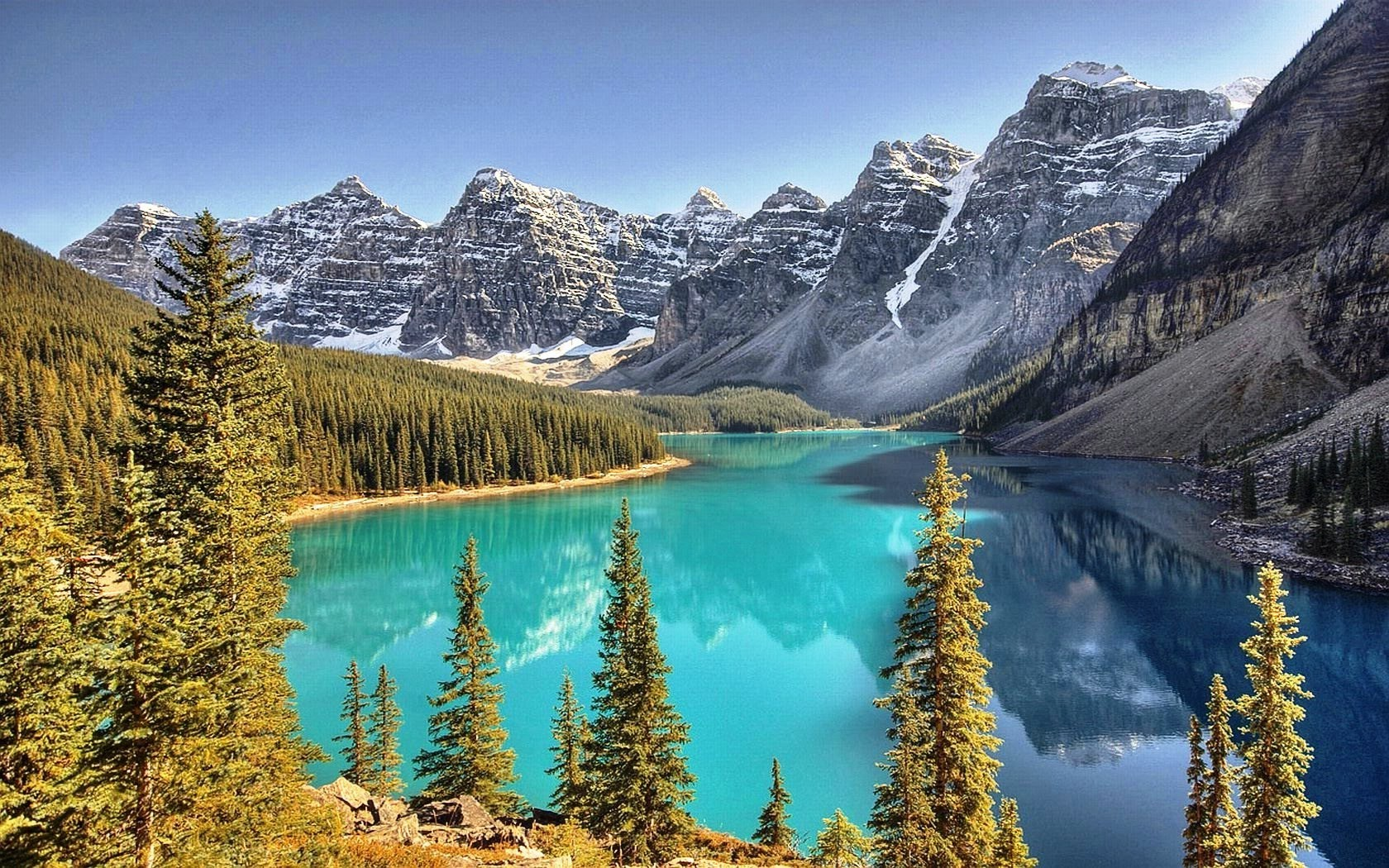 mountains,lake,forest.beauty!