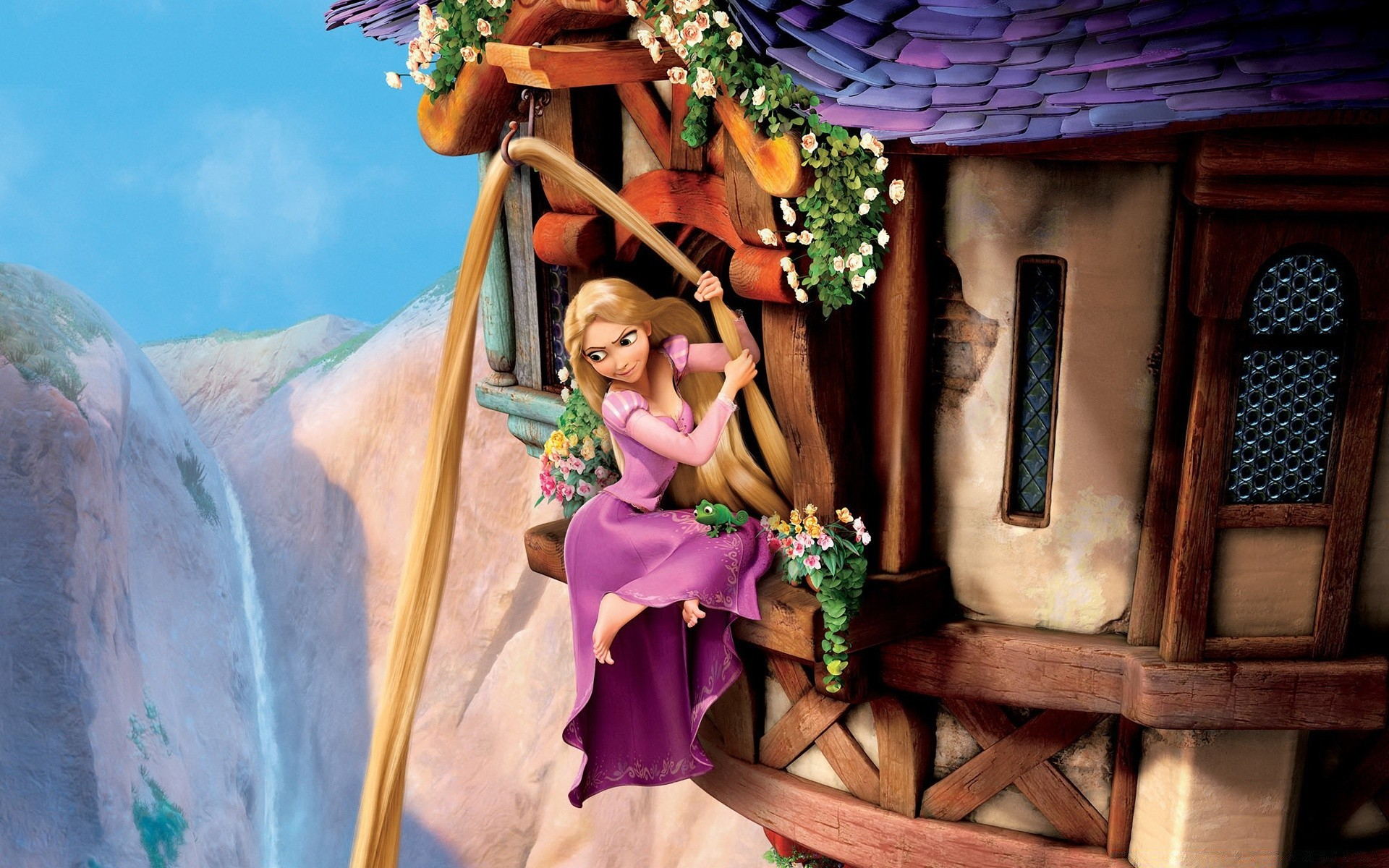 rapunzel tangled android wallpapers for free