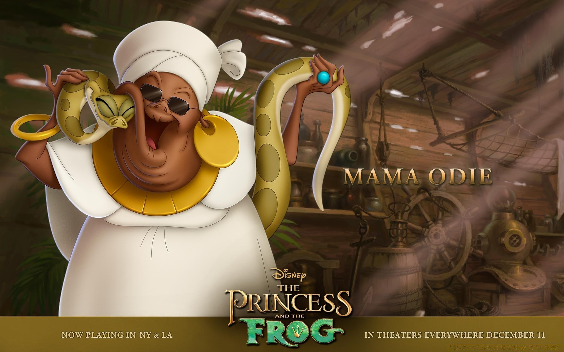 Princess And The Frog Mama Odie. Android Wallpapers For Free