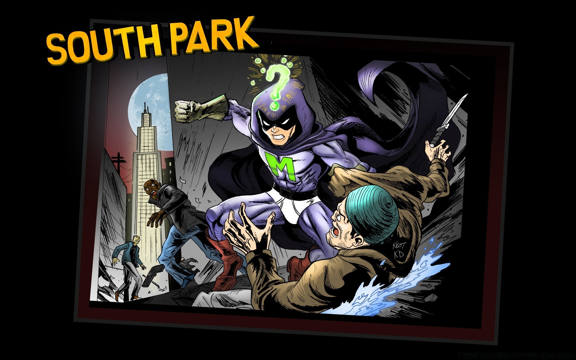 South Park Mysterion Android Wallpapers