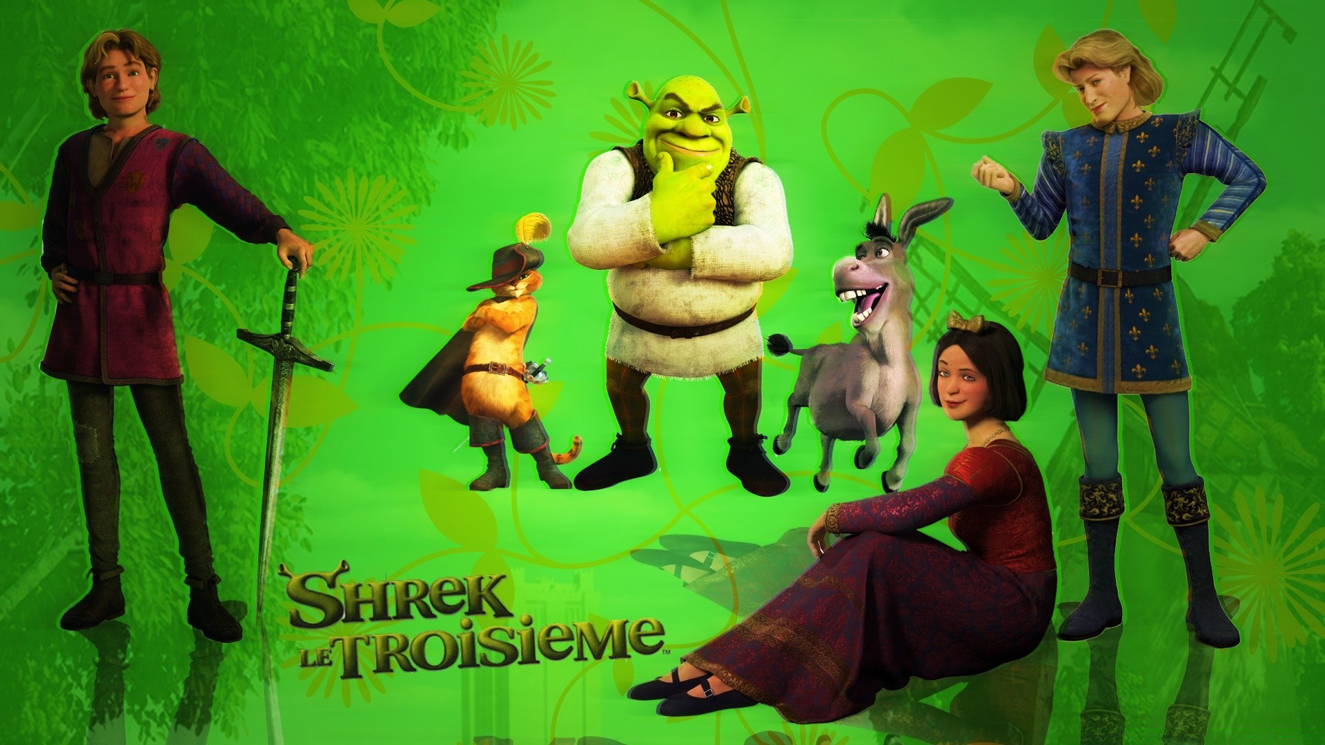 Shrek Android Wallpapers For Free
