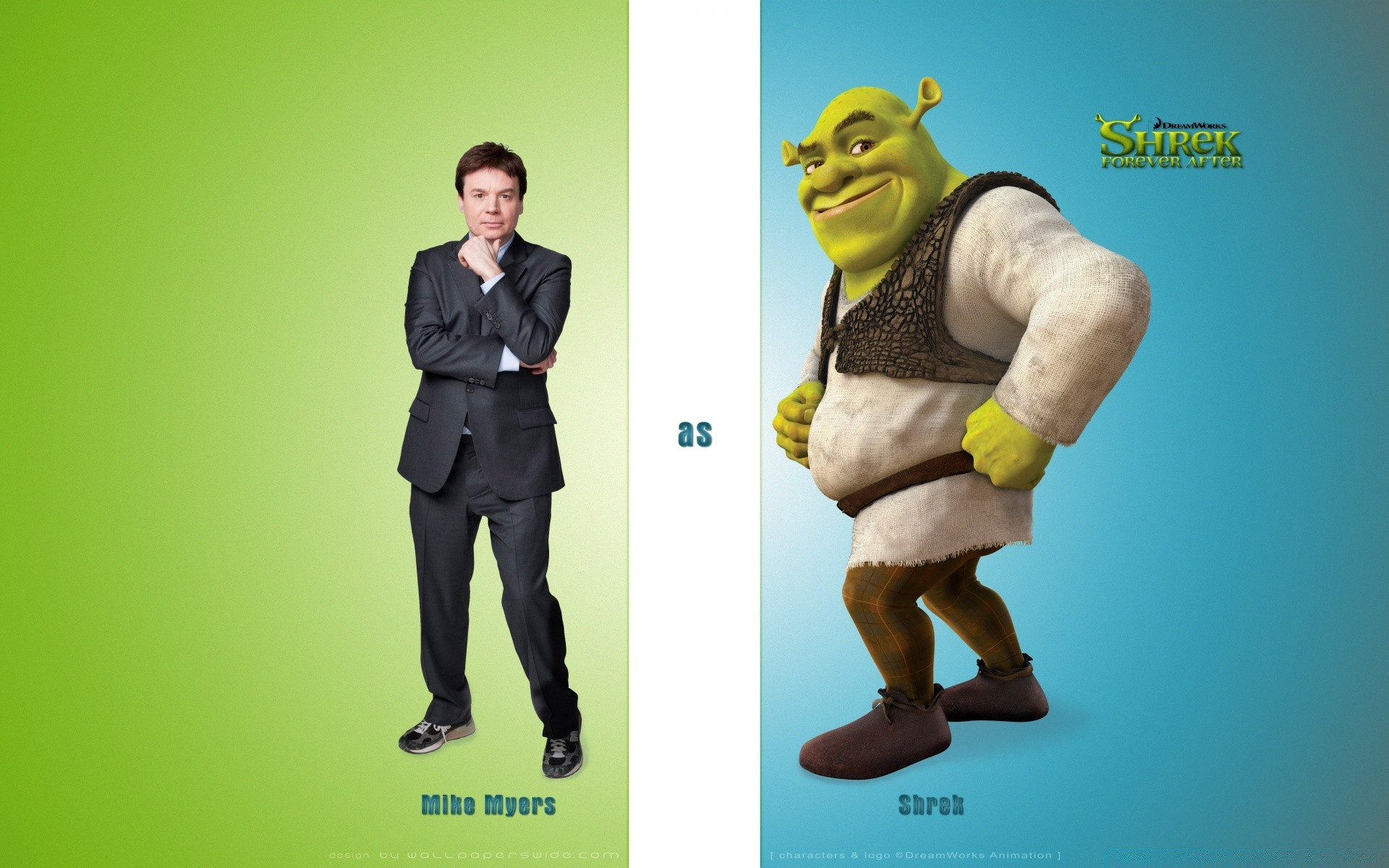 Mike Myers As Shrek Forever After Android Wallpapers For Free