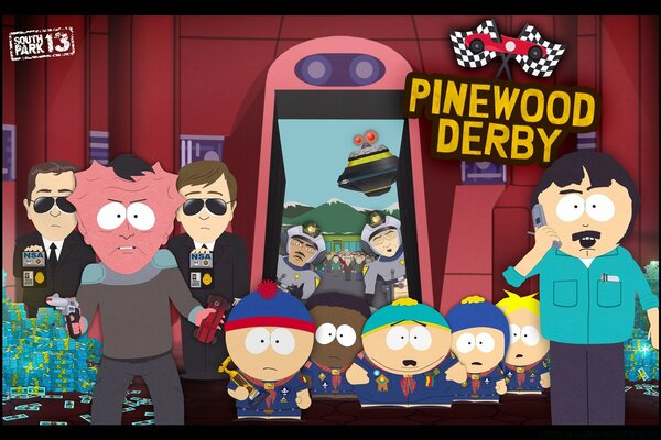 South Park - Pinewood Derby