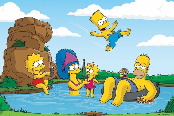 The Simpsons Summer Vacation