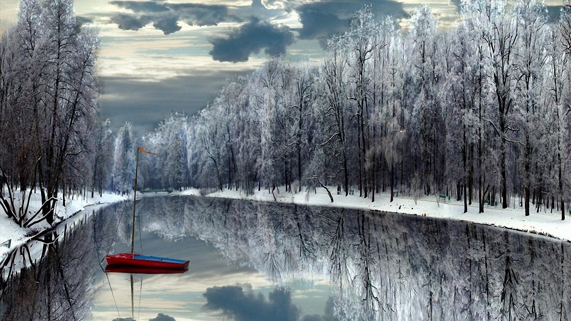 winter snow wood cold tree landscape frost nature season ice frozen scenic weather mountain lake