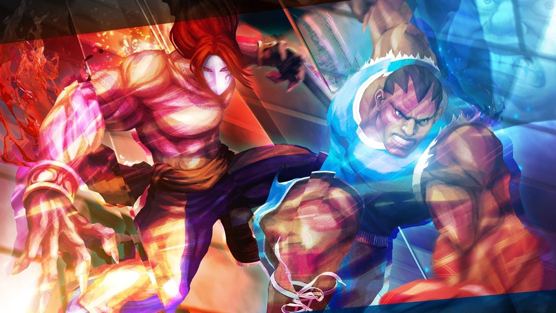 Street Fighter X Tekken Vega Balrog Phone Wallpapers
