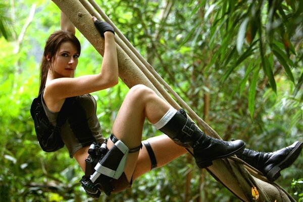 Tomb Raider 2013 Lara Croft - Jungle