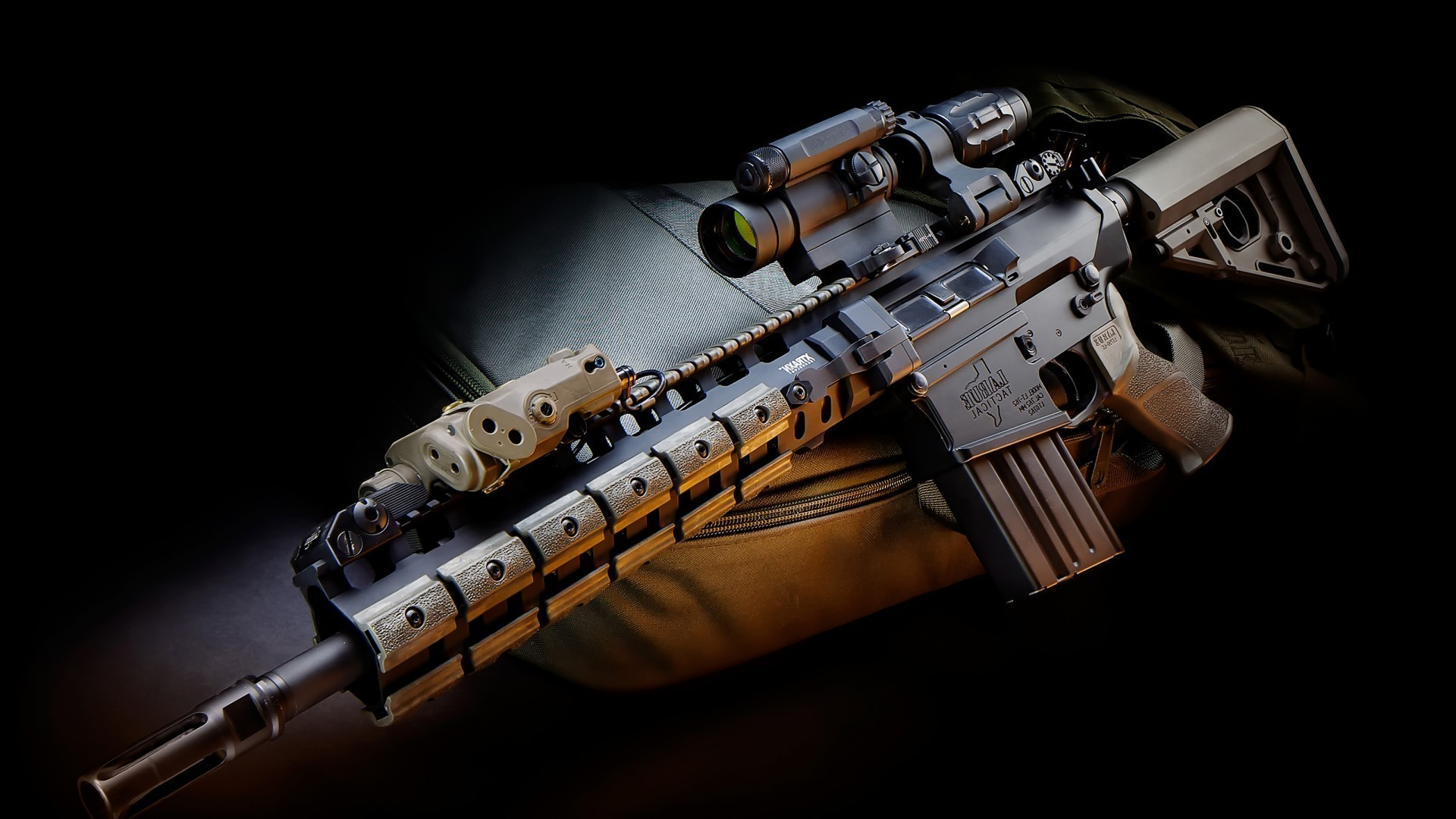 Gun Wallpaper Android Download: Assault Rifle. Android Wallpapers For Free
