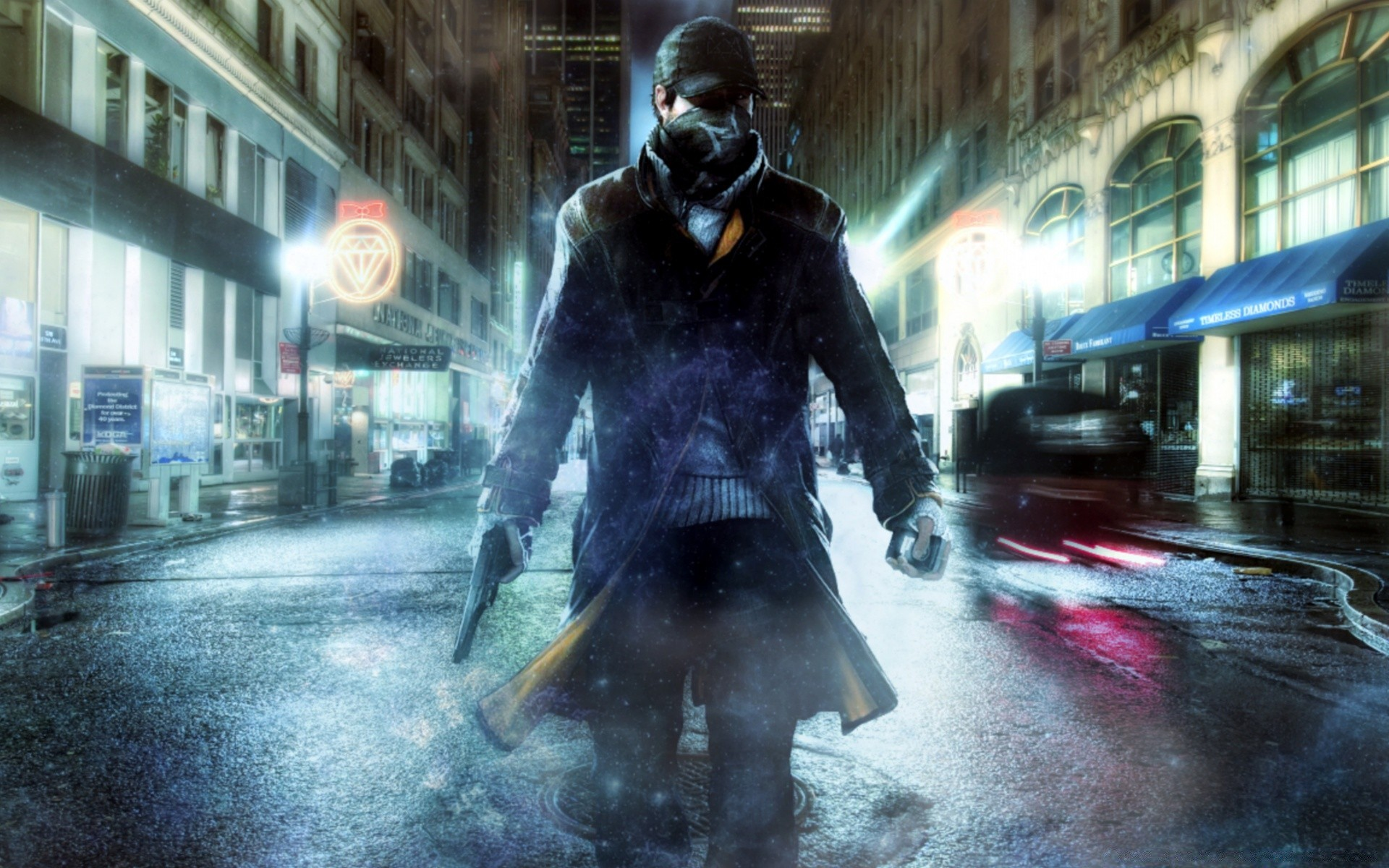 Aiden Pearce Watchdogs Android Wallpapers