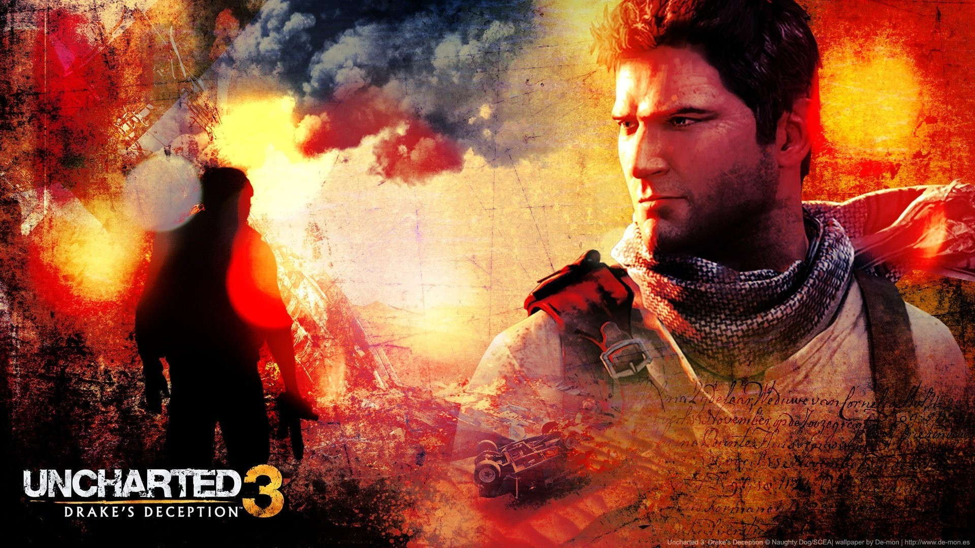 Uncharted 3 Drakes Deception Phone Wallpapers