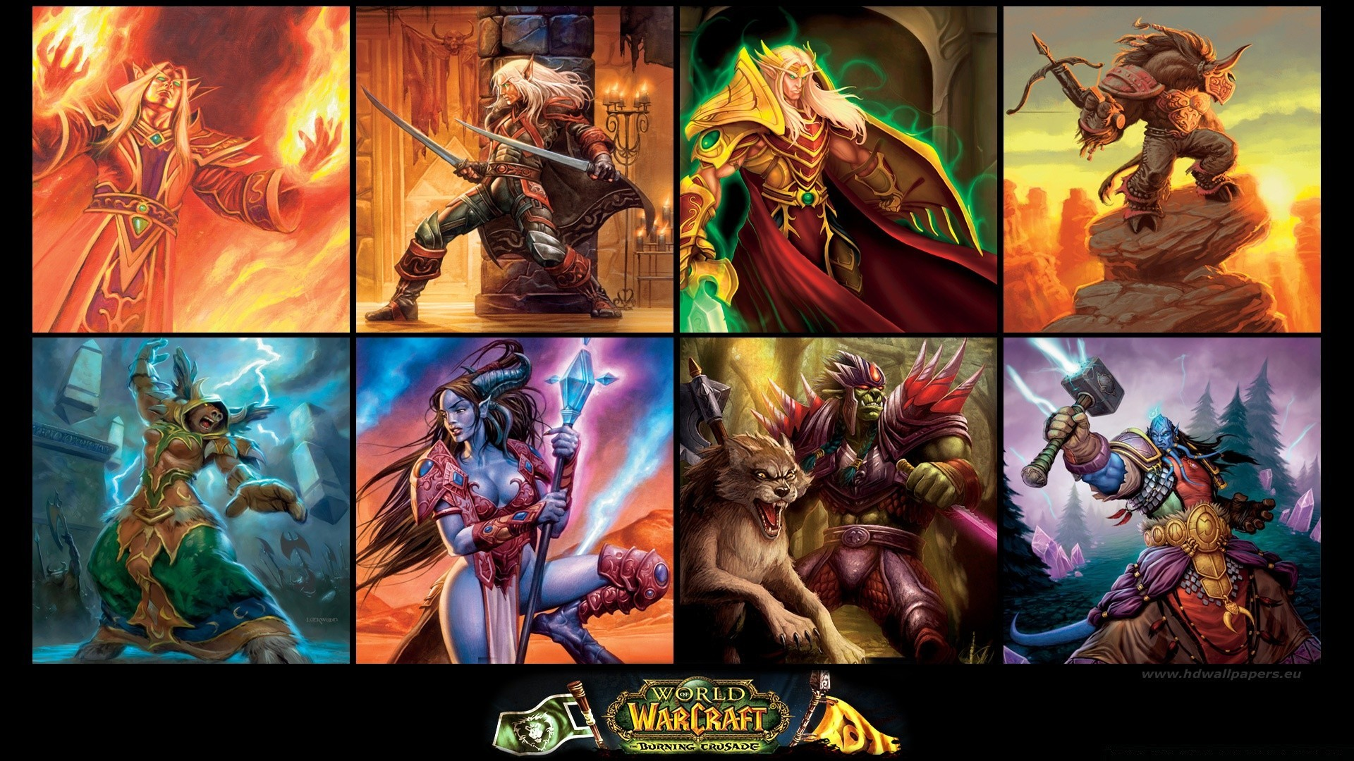 World Of Warcraft The Burning Crusade Android Wallpapers