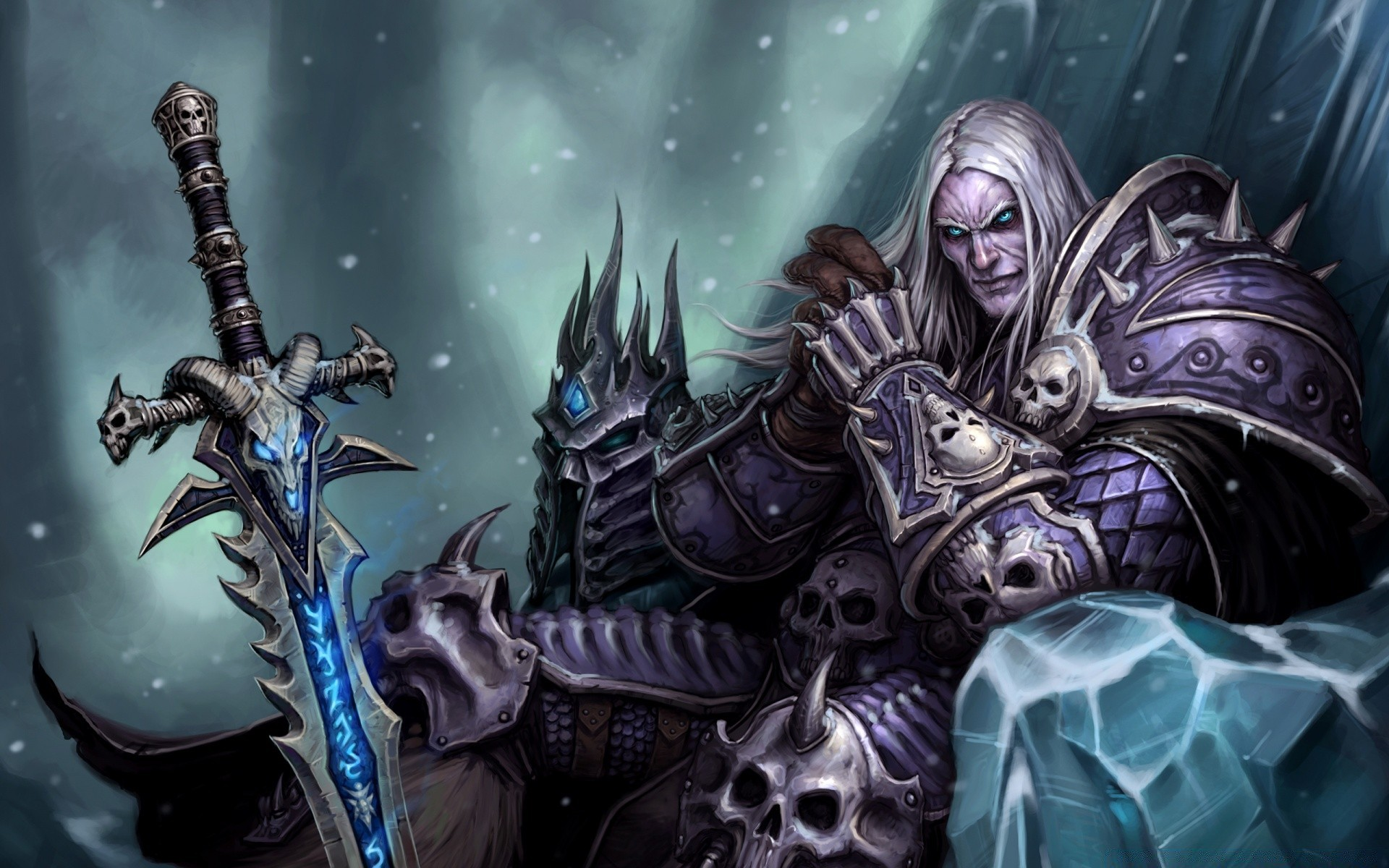 Arthas Menethil The Frozen Throne Phone Wallpapers